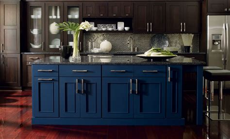 blue cabinets kitchen kraftmaid midnight blue kitchen cabinets kitchen cabinet