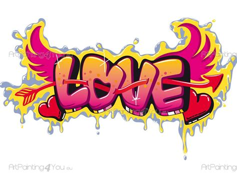 imagenes de i love you en graffiti vinilos frases graffiti love 2698es