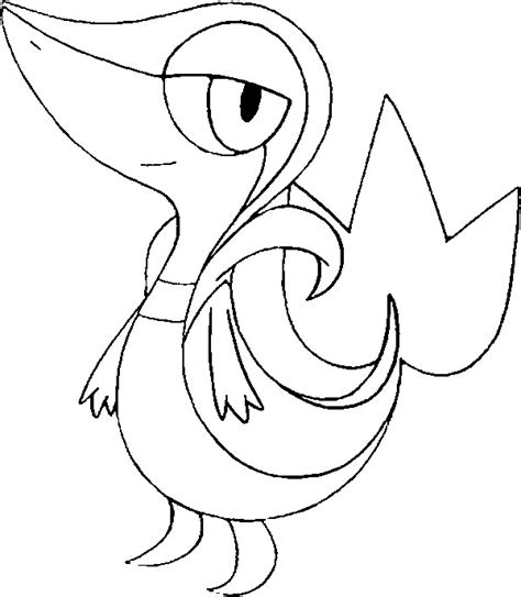 Snivy Coloring Pages free coloring pages of tepig and snivy