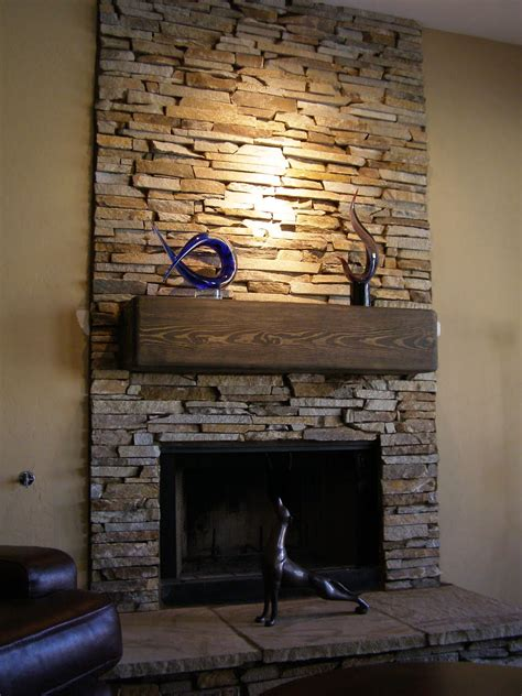 fireplace with stone a better stone company inc fireplace