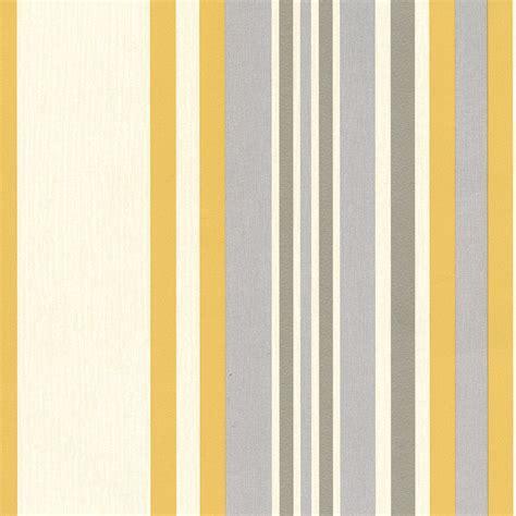yellow and grey wallpaper next muriva millie stripe yellow wallpaper 8m roll next day