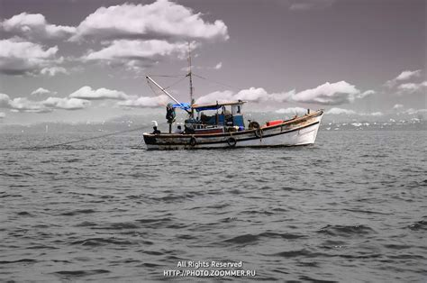 boat size for ocean travel fishing boat in the sea travel stock photos