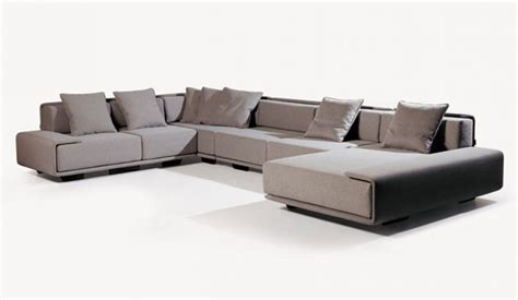 U Shaped Leather Sofa Svensson Modular U Shape Corner Sofa Delux Deco