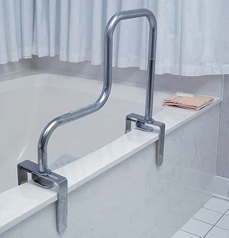 steel sloping safety bath tub bar colonialmedical
