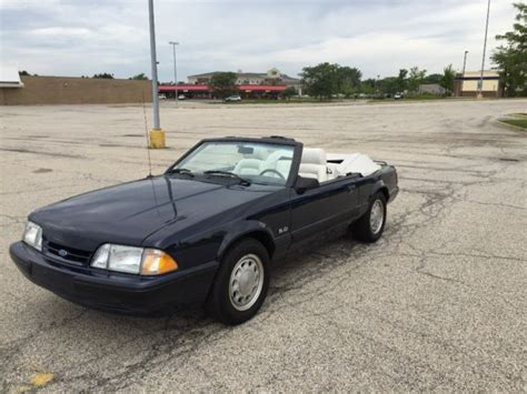 1988 ford mustang lx 5 0 ford mustang lx 5 0 convertible 1988