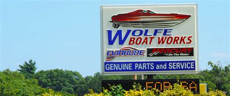 boat dealers near rogers ar wolfe boat works marine parts service