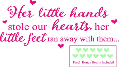 Baby Nursery Wall Stickers Quotes baby girl wall quotes nursery wall sayings little girls