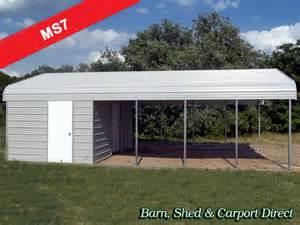 Carport storage sheds