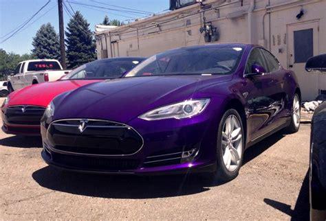Tesla Violet Purple Model S Teslamotors