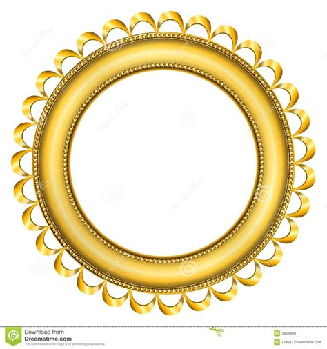 Vans Transparent Mirror Silver royalty vrije stock afbeeldingen frame gold 2