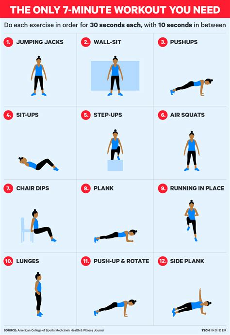 10 Minute No Floor Workout - this 7 minute workout will get you in a shape in