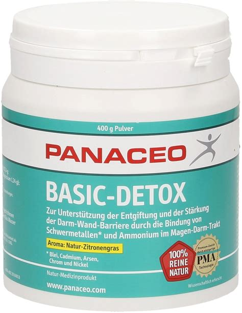 Detox Powder by Basic Detox Powder Lemongrass Panaceo Vitalabo