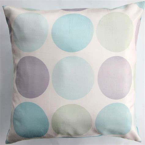 Pastel Pillows by Pastel Circles Throw Pillow Cover By Sassy Pillows