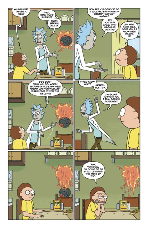 rick and morty hardcover book 2 rick and morty 26 six page advance preview nerdspan