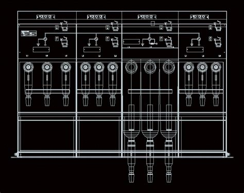 Schneider Electric Autocad Drawings schneider electric rm6 switchgear ring unit dwg