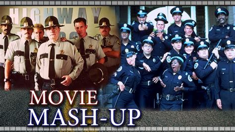 police academy haircut super troopers police academy trailer mash up re cut