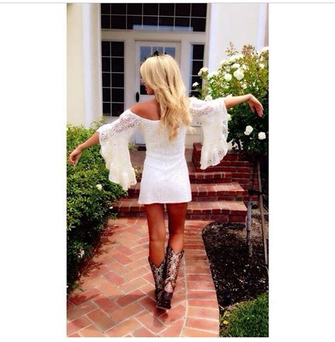 white country style dresses country style white lace dress with belled
