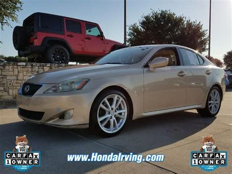 sell used 2007 lexus is250 premium package like new white gold lexus is for sale used cars on buysellsearch