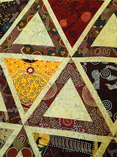 Patchwork Patterns Australia - chopsticks made up in aboriginal fabric quilt