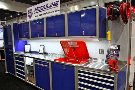 Xtreme Garage Storage Cabinet Sema 2014 Moduline S Stand Alone Tool Boxes Complement Cabinets Road Xtreme