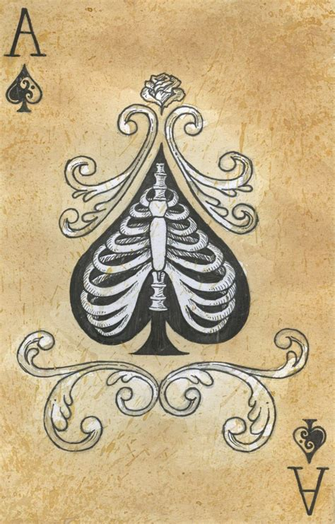 spades tattoo 22 best images about skeleton on stencils