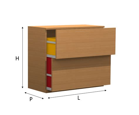 mobili per la mobile per la raccolta differenziata con cassettoni