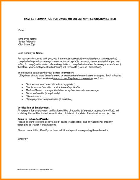 Resignation Letter Family Reasons by 9 Resignation Letter Family Reason Commerce Invoice