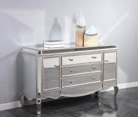 mirrored console buffet cabinet dresser quality living