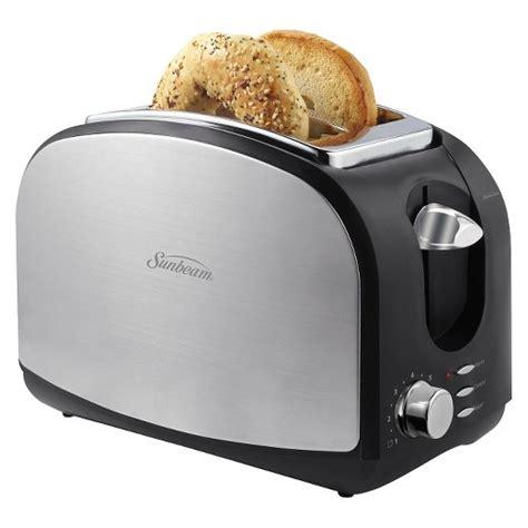 Stainless Steel Kitchen Furniture sunbeam 174 2 slice toaster target
