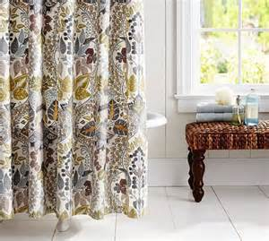 shower curtain pottery barn