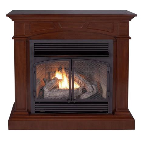 shop cedar ridge hearth 44 53 in dual burner vent free