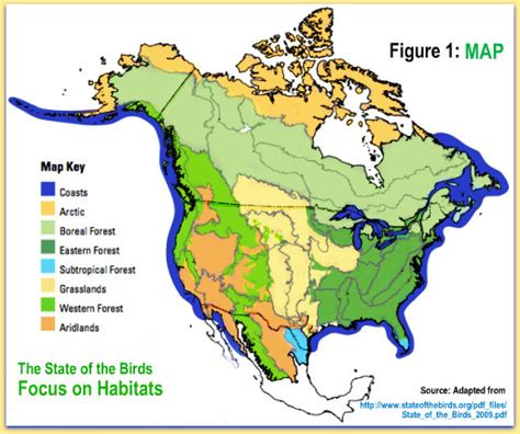 united states biome map actionbioscience promoting bioscience literacy