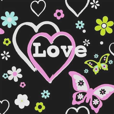 arthouse happy hearts flowers childrens kids bedroom wallpaper 533701 debona love hearts flowers butterfly girls
