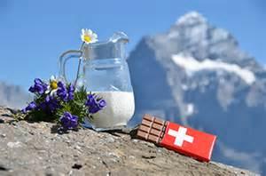 Schweizer Schokolade Swiss Chocolate Jug Of Milk And Apline Flowers Switzerland Kuvert 252 Re Net