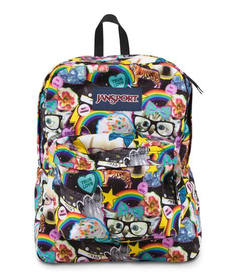 Backpack Cat jansport superbreak school backpack multi hairball fantasyard costume jewelry accessories