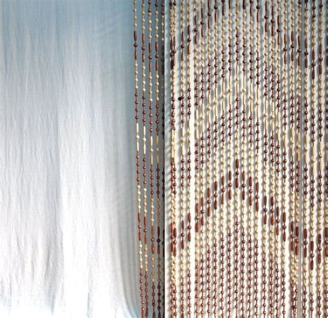 1000 images about beaded curtains on bamboo