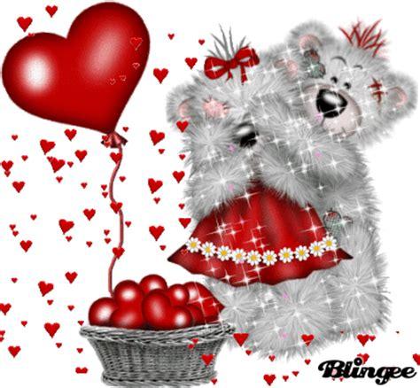 imagenes de corazones que brillen osos enamorados fotograf 237 a 130660999 blingee com