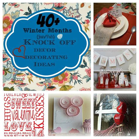Decorating Ideas January S Day Diy Craft And Winter Knock Decor
