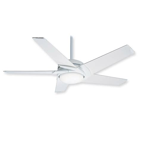 Ceiling Fans White by Casablanca Stealth 59091 Ceiling Fan Glossy White Modern Fan