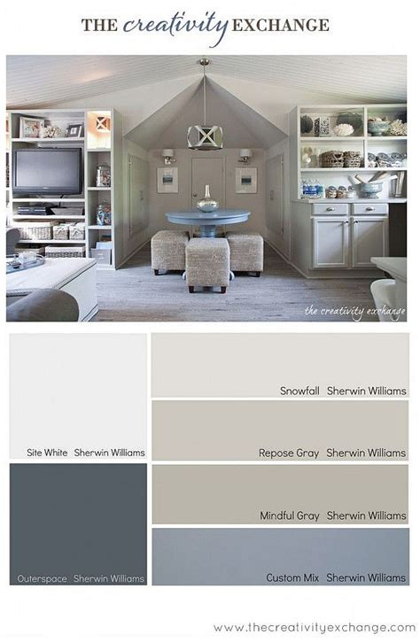 grey office paint palette interior paint color color palette ideas home bunch an interior design luxury homes