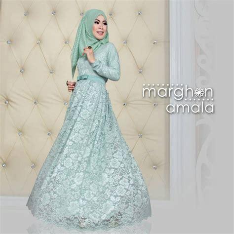 Gamis Pesta Di Thamrin City baju busana muslim modern terbaru trendy margon amala