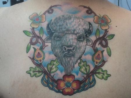 white buffalo tattoo white buffalo by derek poitra tattoos