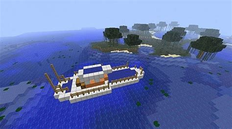 minecraft ferry boat mod small fishing boat minecraft project