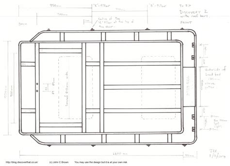 Roof Rack Plans by Discoverthat Roof Rack