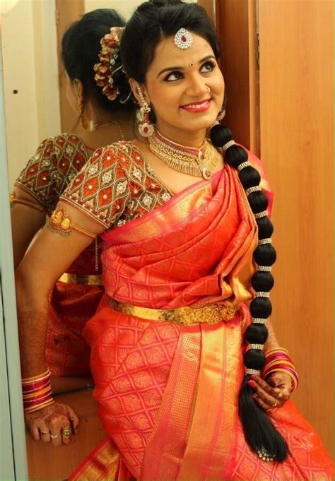 116 best South Indian brides images on Pinterest   Braided