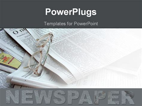 newspaper template powerpoint free templates for powerpoints images