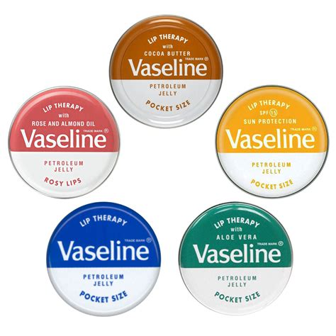 Lipgloss Vaseline vaseline lip therapy petroleum jelly 20g pocket size lip balm treatment ebay