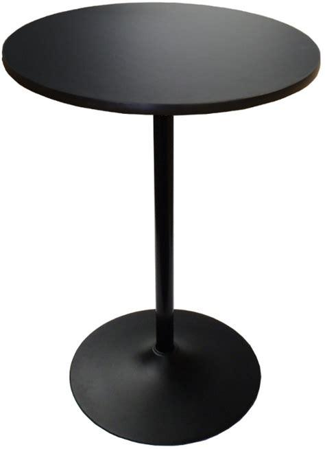 high boy table banquet highboy table w black base