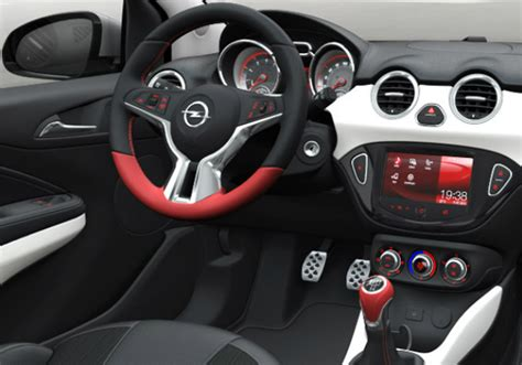 opel adam interior opel adam interior customization 187 web addict s