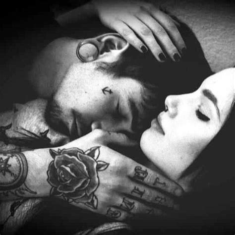 Couple Tattoo Photography Black And White | sensual couple tattoos